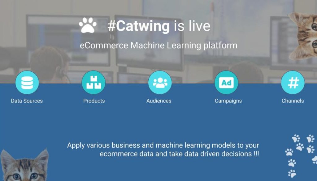 Catwing ecommerce Machine Learning platfrom